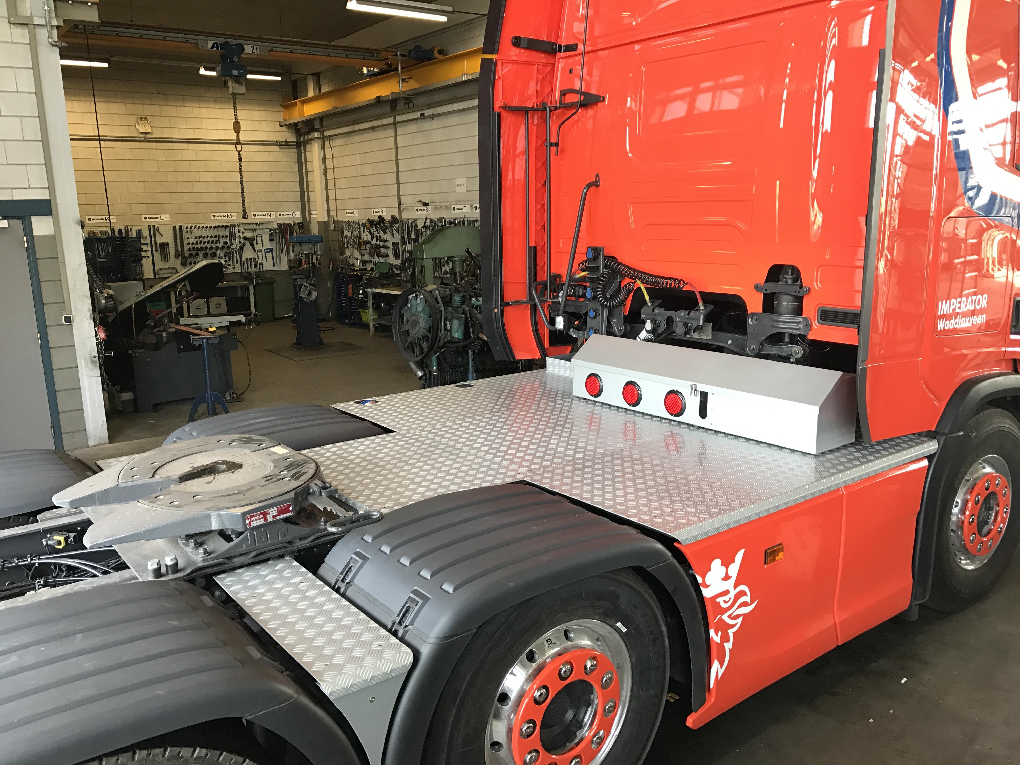 Imperator vrachtwagen 2