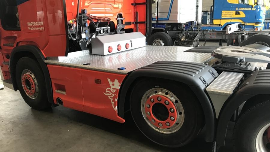 Imperator vrachtwagen 1